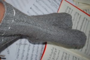 chaussettes tricot