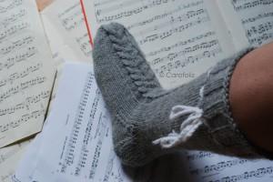 chaussettes tricot