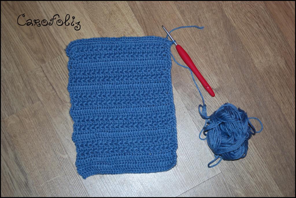 pochette crochet