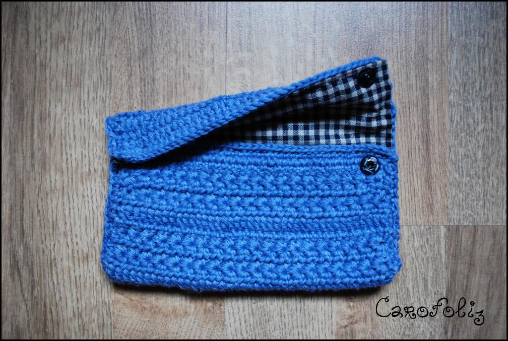 pochette crochet phildar