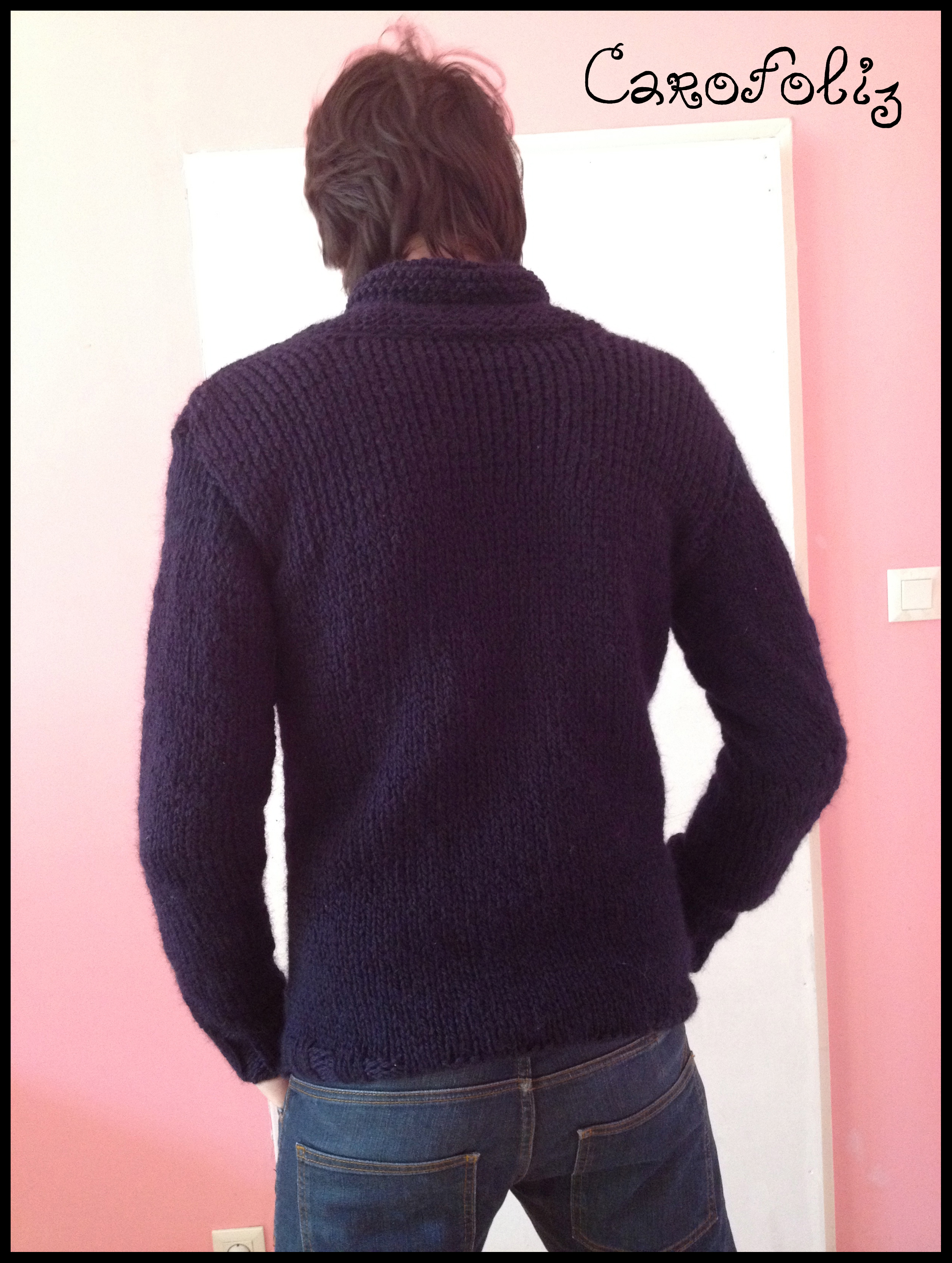 Pull A Part Mail: Pull Au Tricot Pour Hommes
