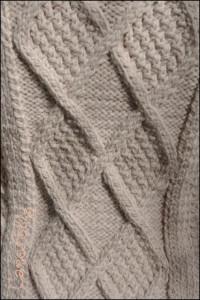 KAL veste aidez tricot torsades