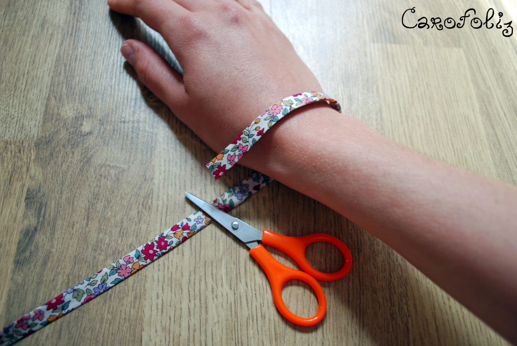 Favori DIY - Faire son bracelet tissu liberty GQ31