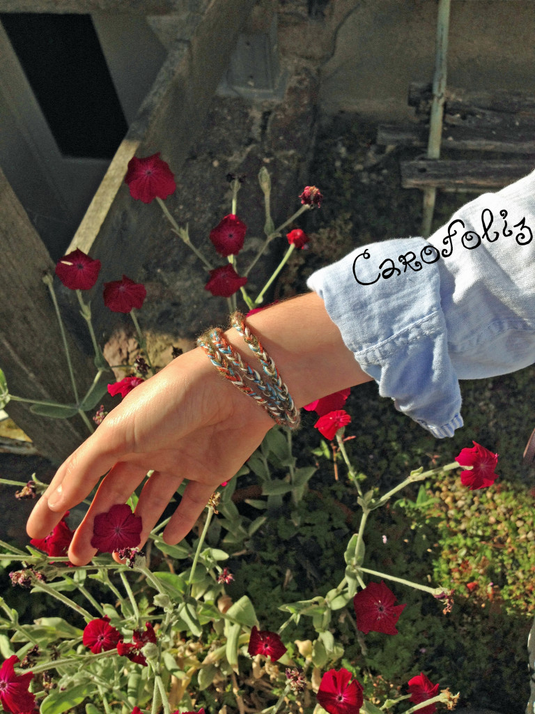 diy bracelet tresse