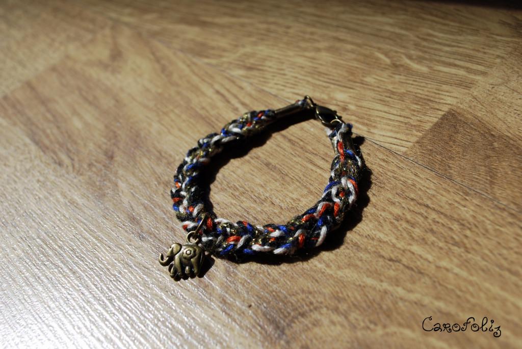 bracelet diy tresse
