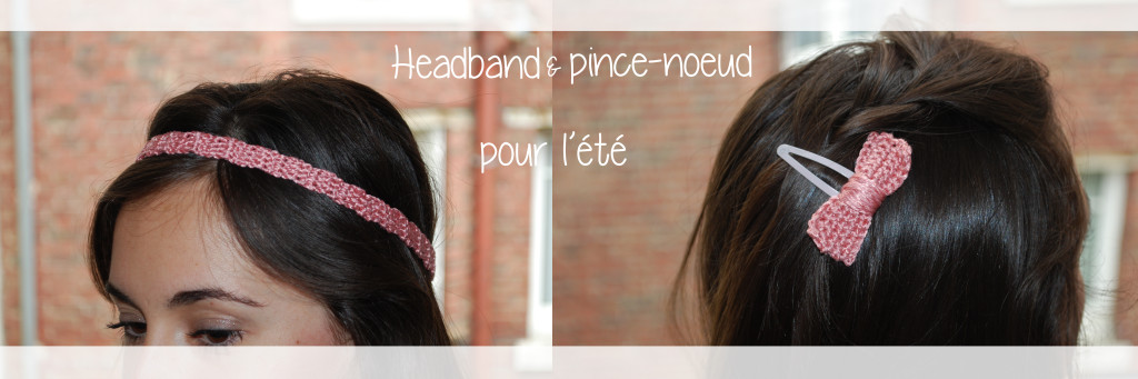 headband pince noeud