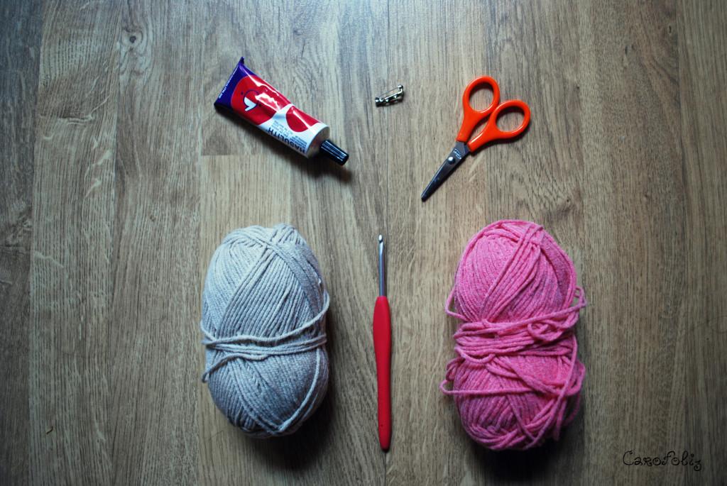broche glace crochet diy