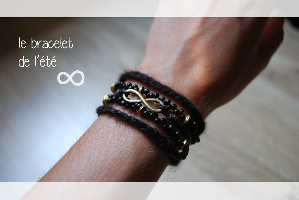 bracelet infinity diy