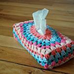 boite mouchoirs en crochet