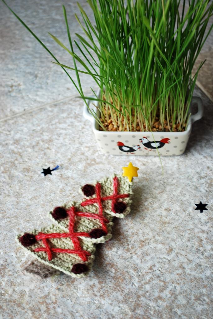 sapin noel crochet