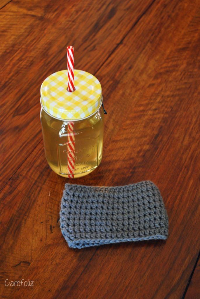 cache mug tricot
