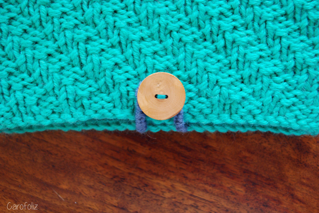 housse ipad tricot