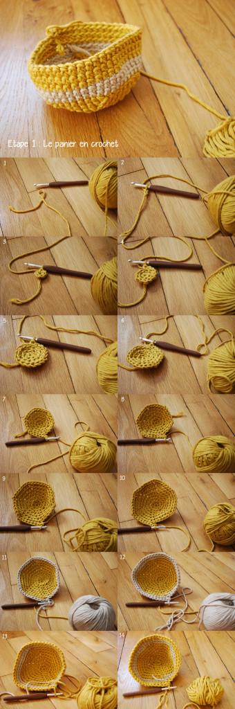 DIY paner en crochet