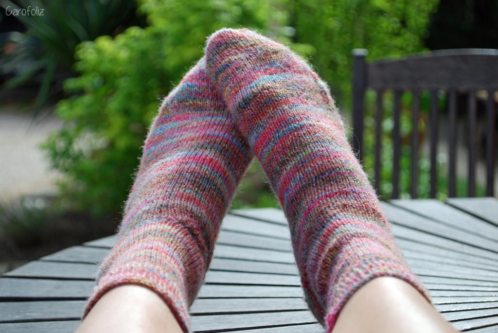 chaussettes de la schtroumpfette
