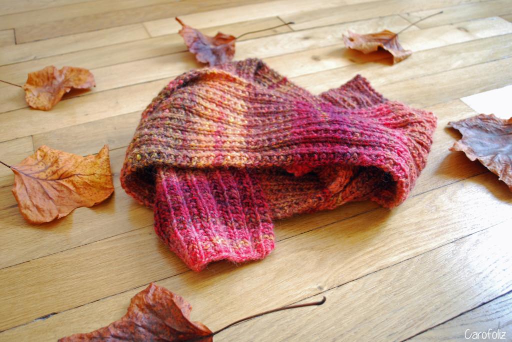 écharpe automne