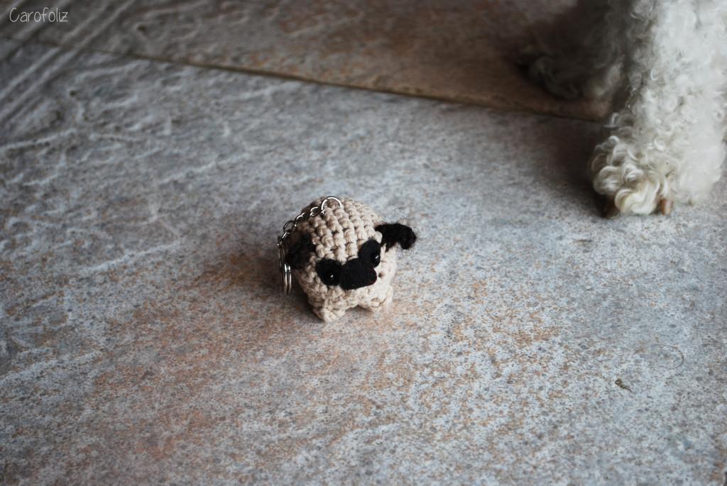 chien au crochet
