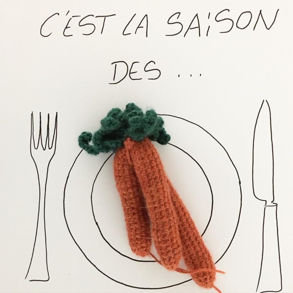 carottes crochet
