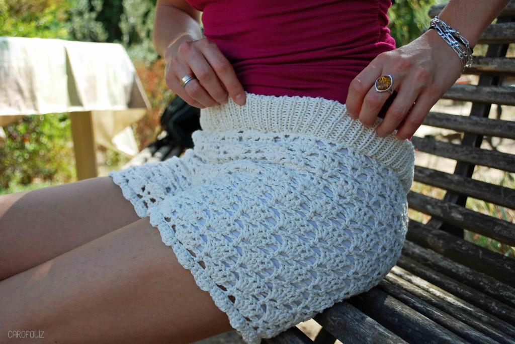 short au crochet