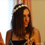 couronne de fleurs au crochet