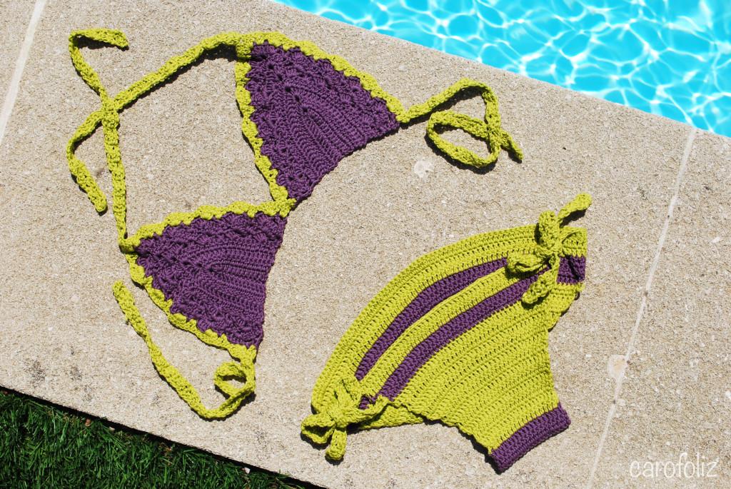 bikini au crochet