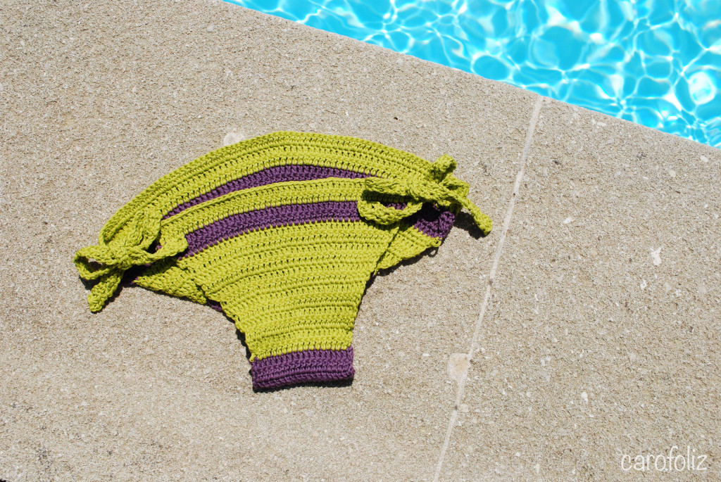 bas bikini au crochet