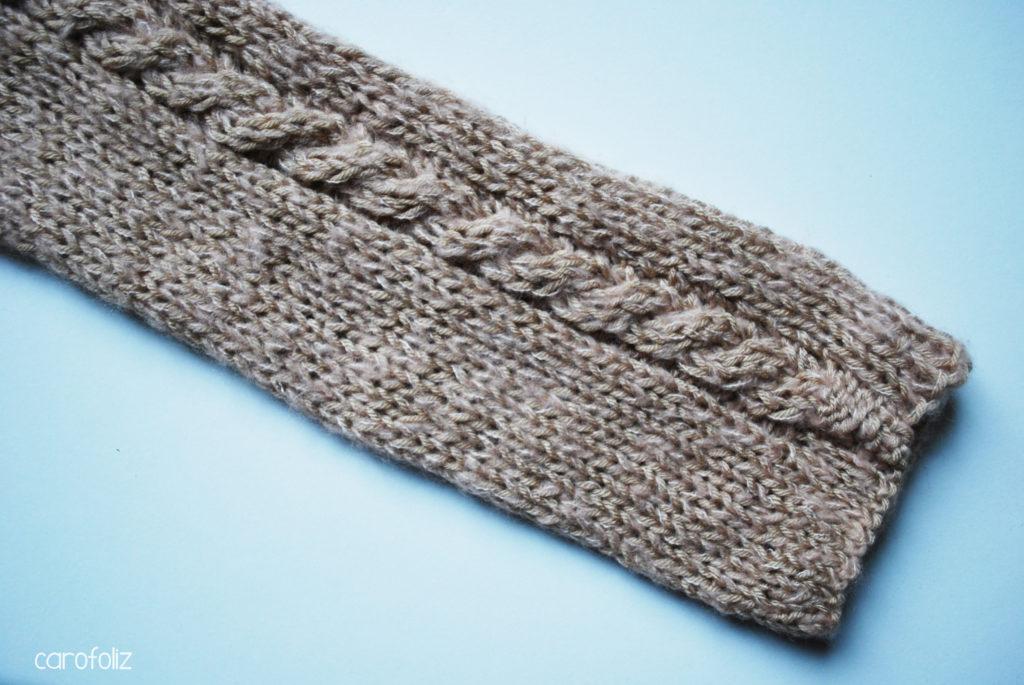 mini pull au tricot