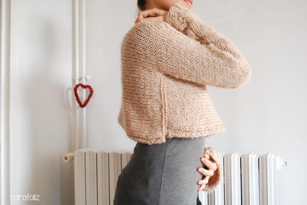 mini pull tricot