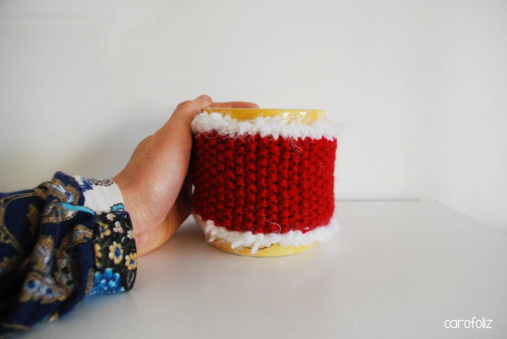 cache mug tricot noel