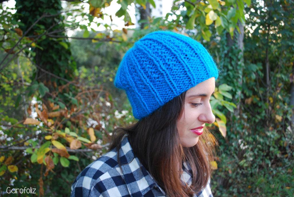 bonnet bleu côtes