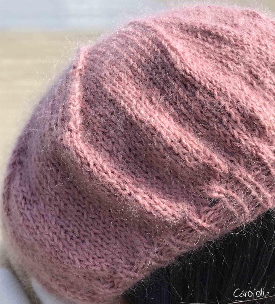 béret au tricot