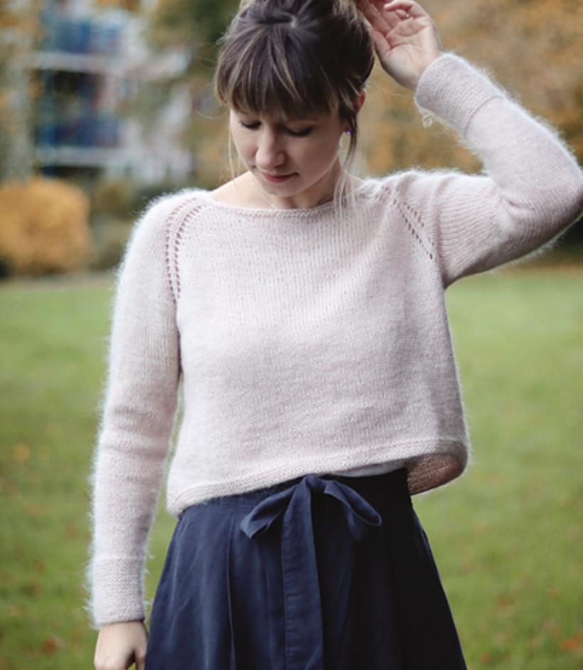 trescao along avec anna en cours tricot