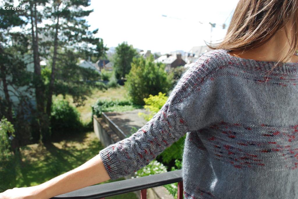 tricoter l'amali sweater