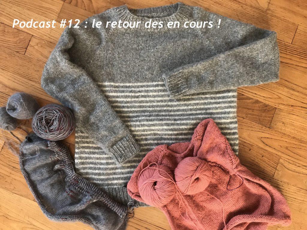 en cours tricot