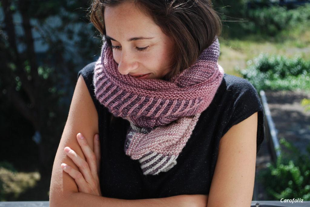 chale tricoté