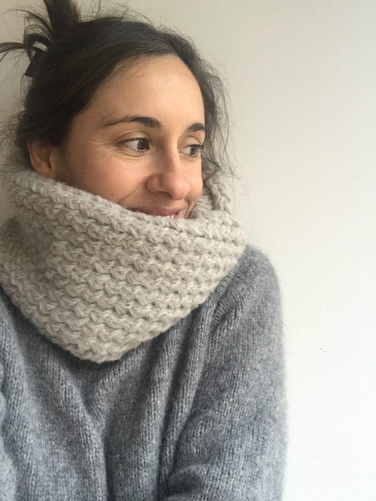tricoter un snood