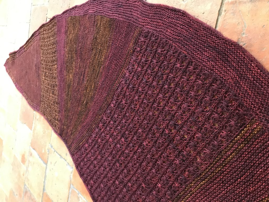chale au tricot
