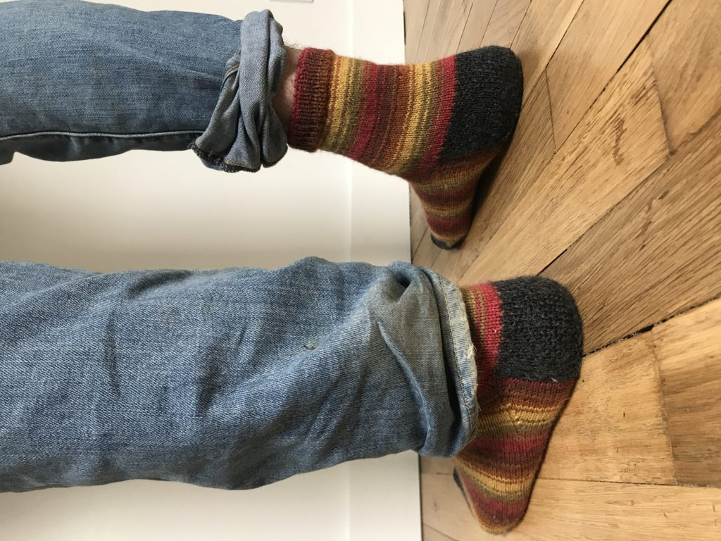 tricoter ses chaussettes