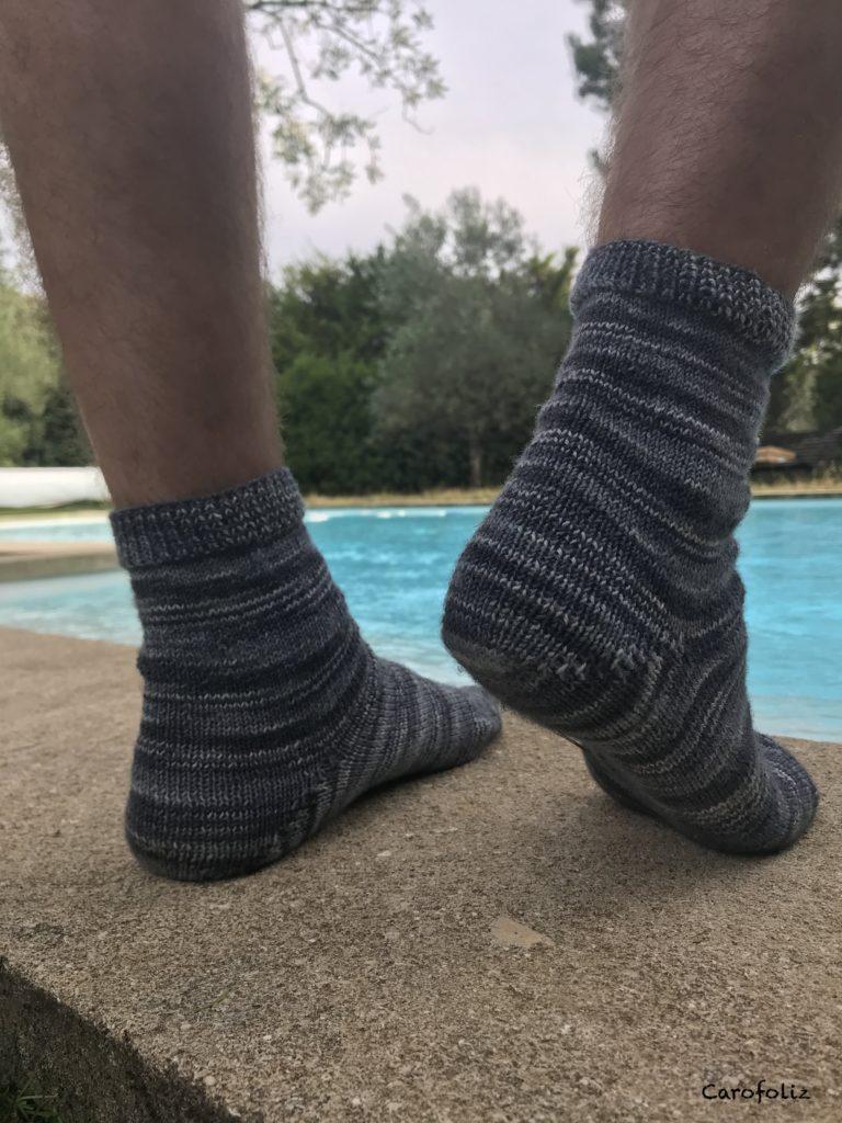 talon au tricot